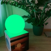 Eve Flare lichtbol bij plant.