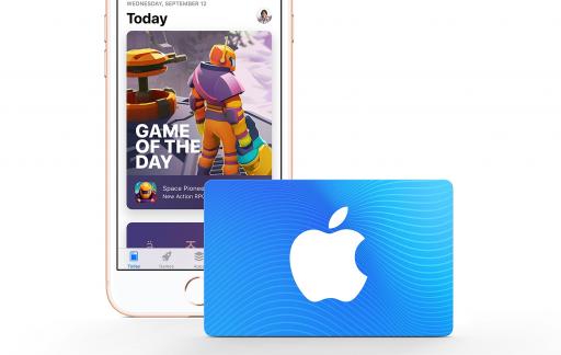 App Store cadeaukaart.