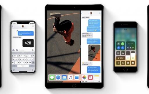iPad Pro met iPhone