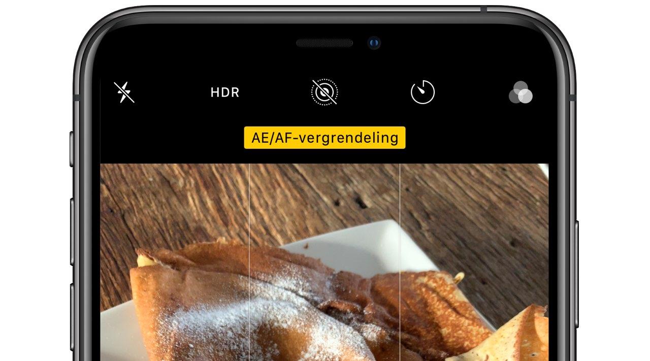 AE/AF vergrendeling