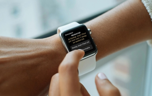 Apple Watch vriend uitdagen voor een wedstrijd.