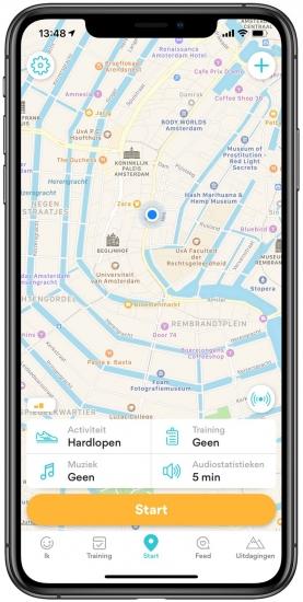 Runkeeper hardloop-app