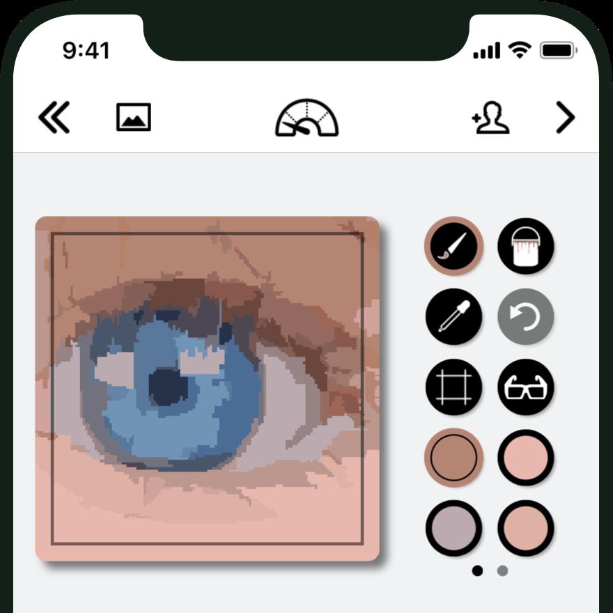 Simile Paint-app voor schilderen.