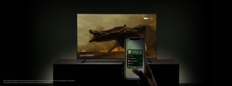Samsung smart tv met AirPlay 2