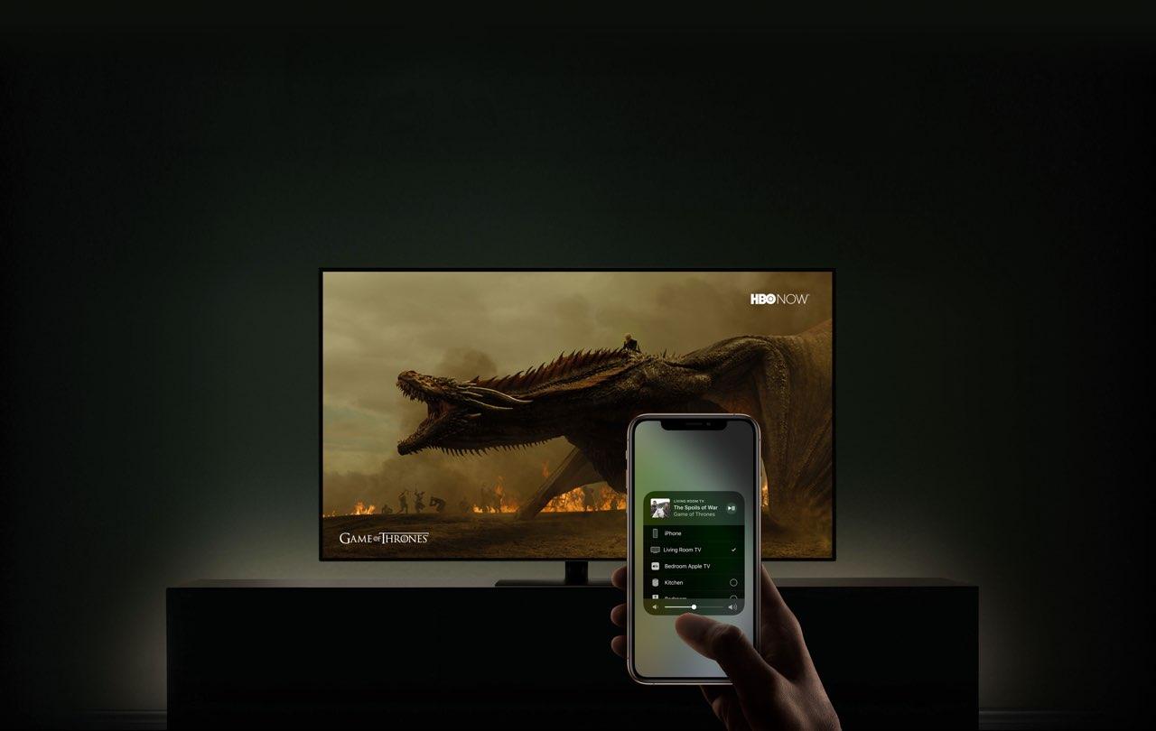 Televisie met AirPlay 2