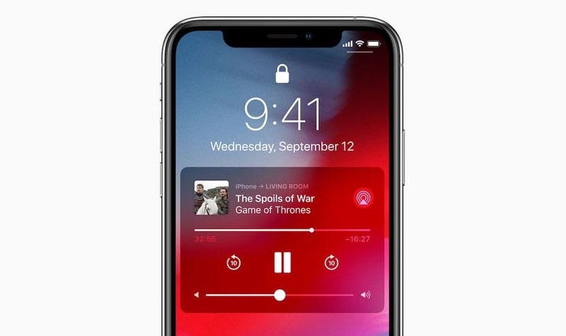 AirPlay 2 bedienen via televisie