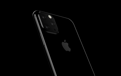 iPhone 2019: render met 3 camera's