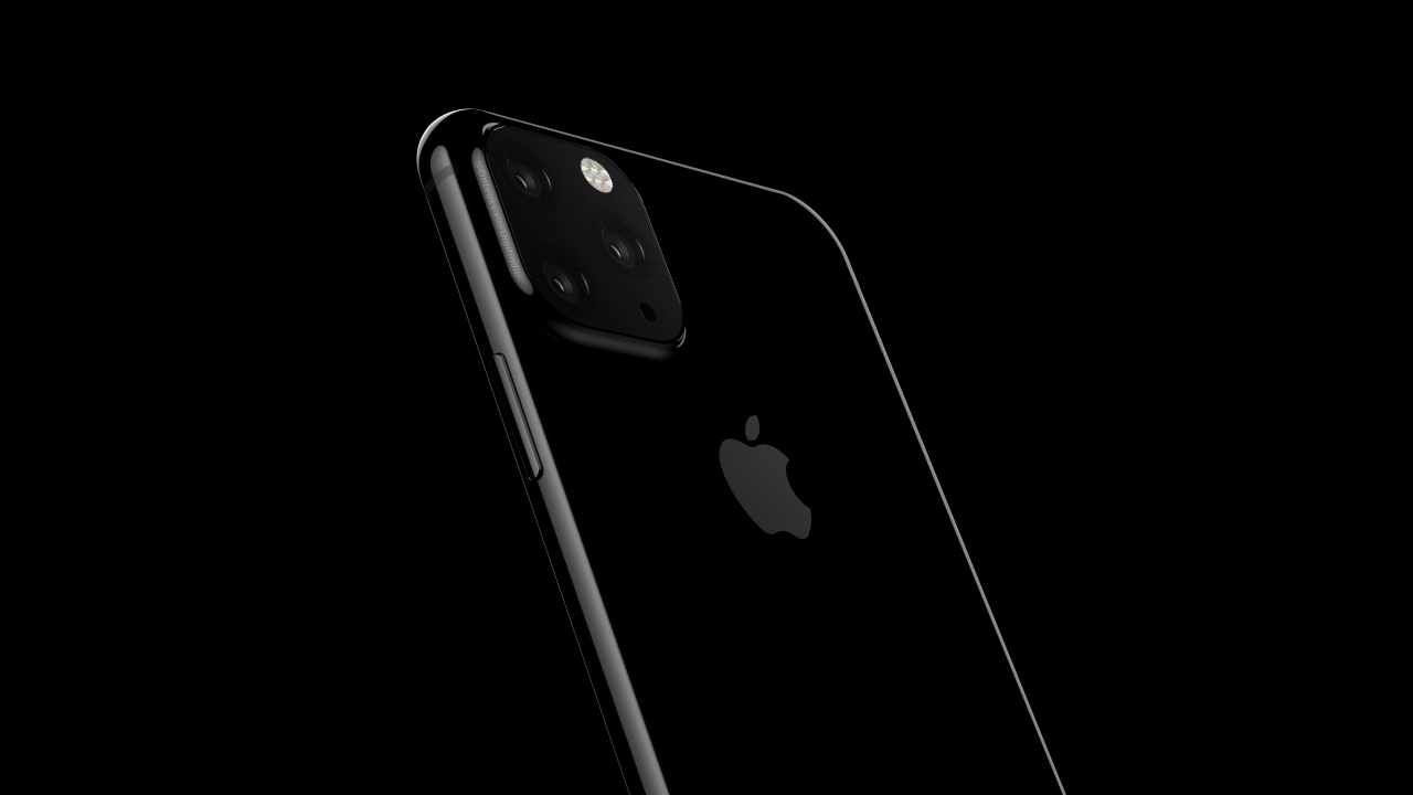 iPhone: render met 3 camera's