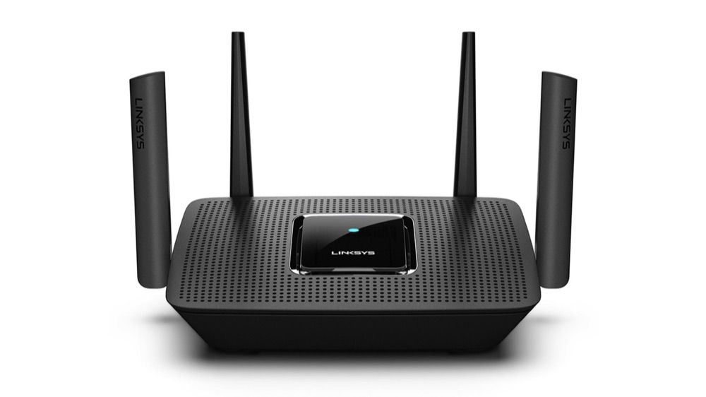 Linksys Wi-Fi Mesh router.