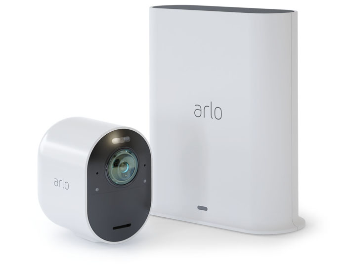 Arlo Ultra-camera met SmartHub en HomeKit