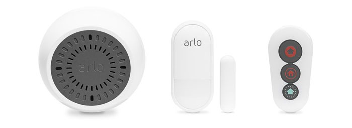 Arlo Siren, sensor en remote