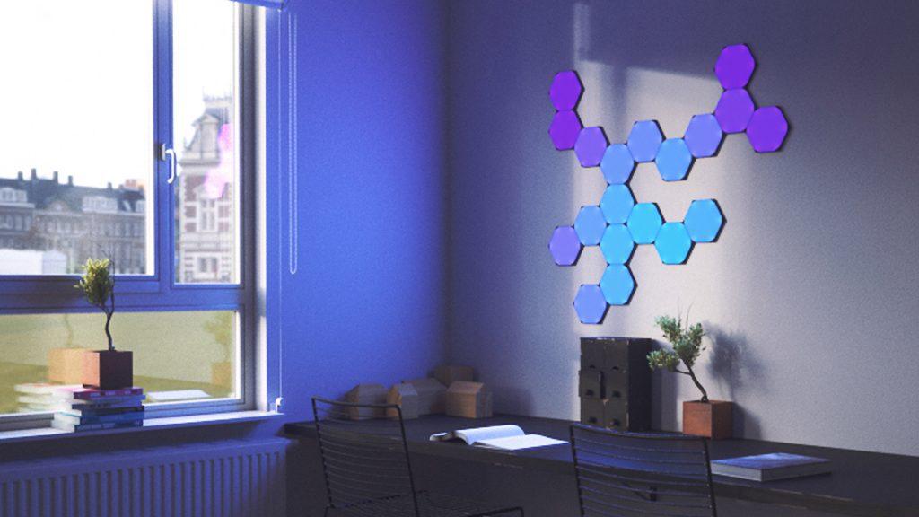 Nanoleaf zeshoekige panelen