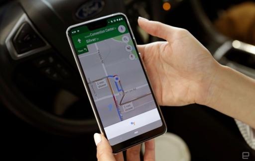 Google Assistent met Google Maps.