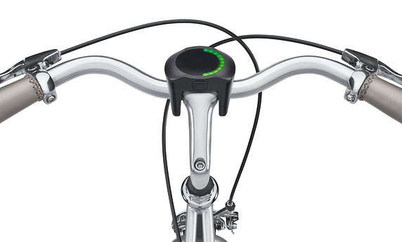 SmartHalo op de fiets
