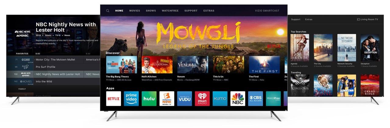 Vizio smart-tv's met HomeKit