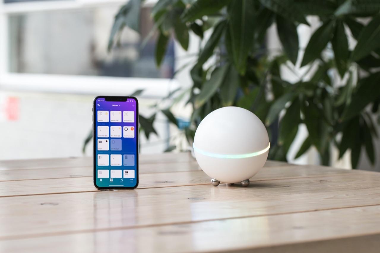 Nieuwe Homey 2.0-app.