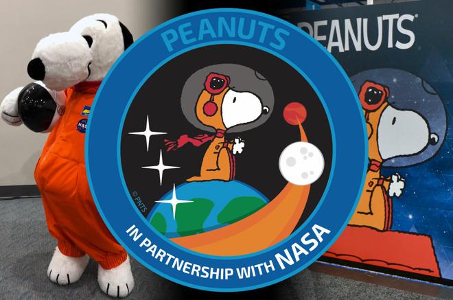 Peanuts met Snoopy.