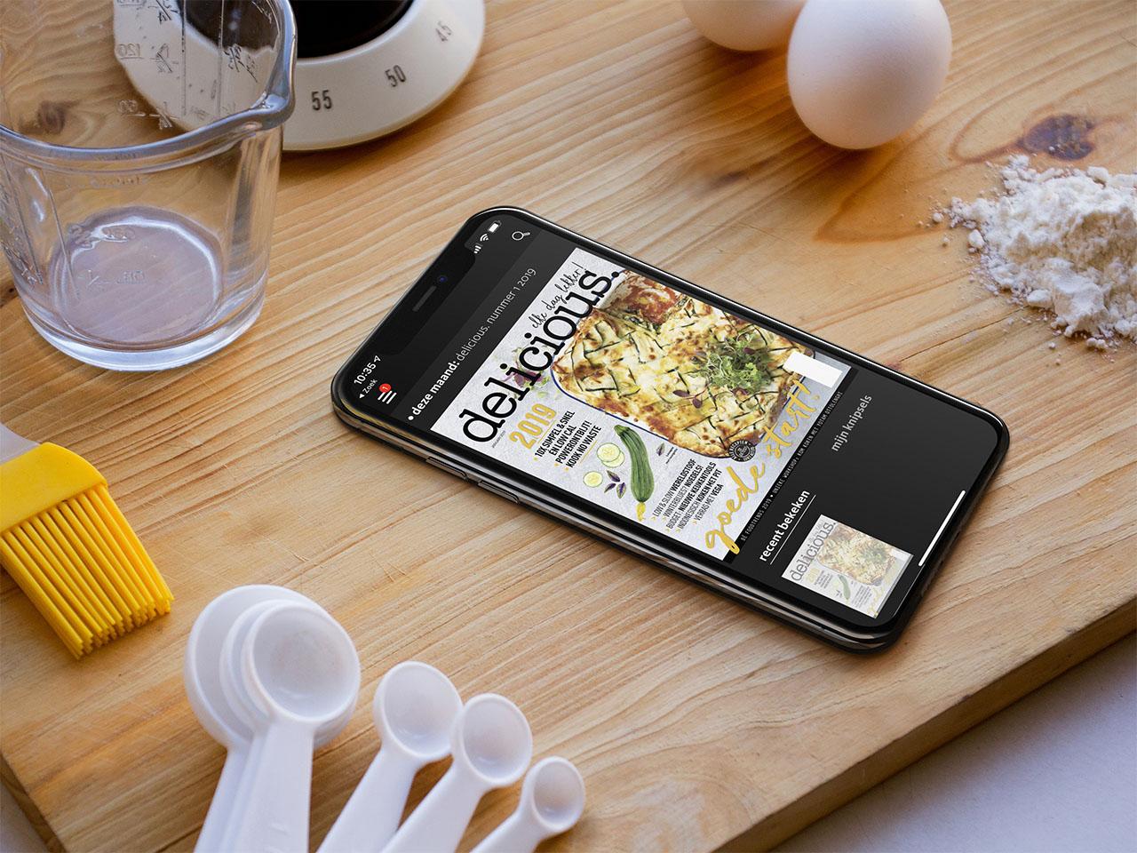 Delicious Magazine op de iPhoneDelicious Magazine op de iPhone