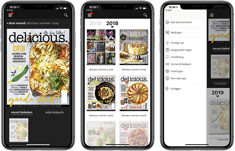 Delicious Magazine met DigimaQ