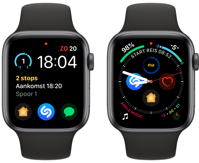 NS Apple Watch-app complicaties.