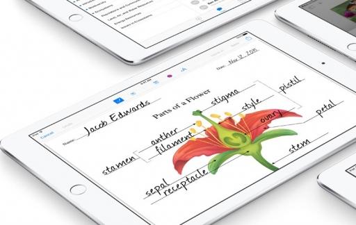 iTunes U op iPad