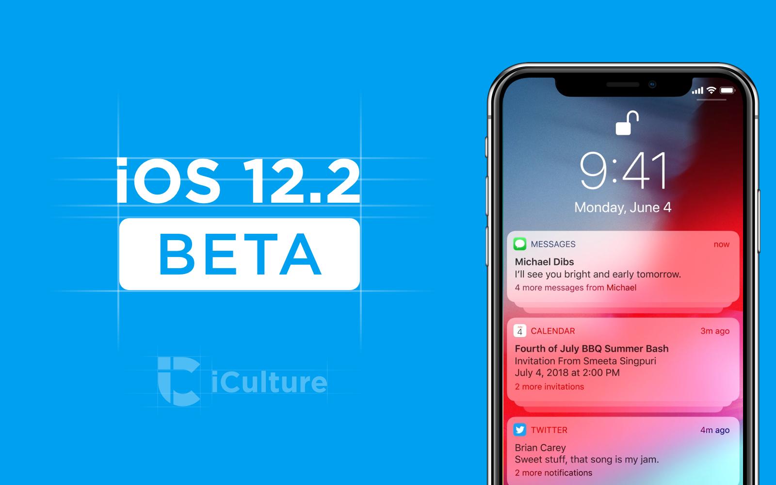 iOS 12.2 beta verschenen: alles over de beta's van iOS 12.2