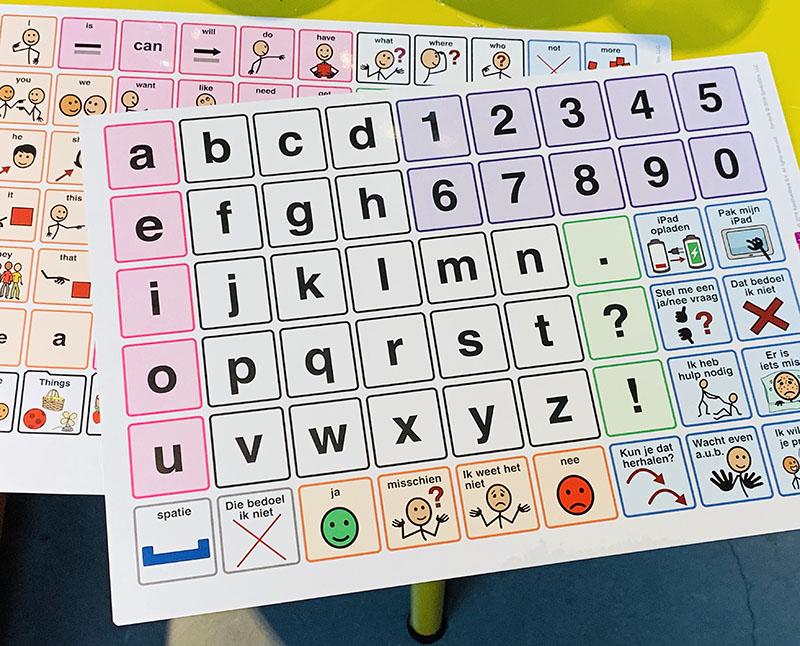 Proloquo2go alfabet