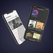 Apple Music en Spotify.