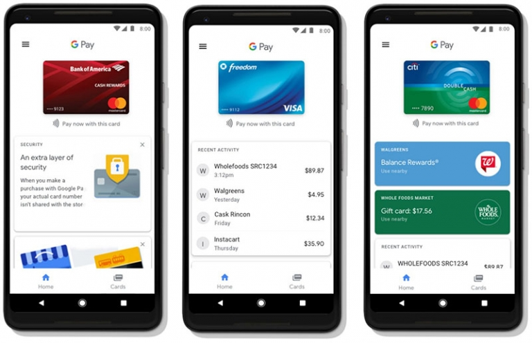 Google Pay op Android
