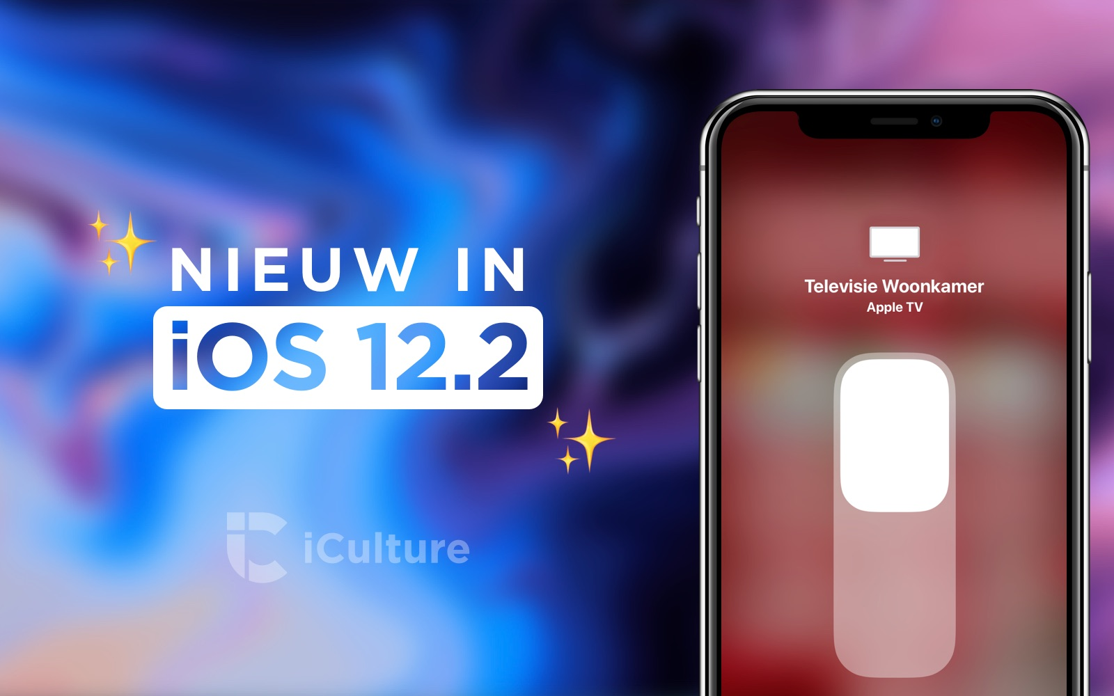 Nieuwe functies in iOS 12.2.
