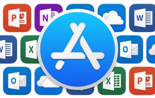 Microsoft Office 365 in de Mac App Store