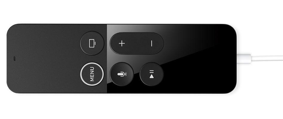 Siri Remote opladen