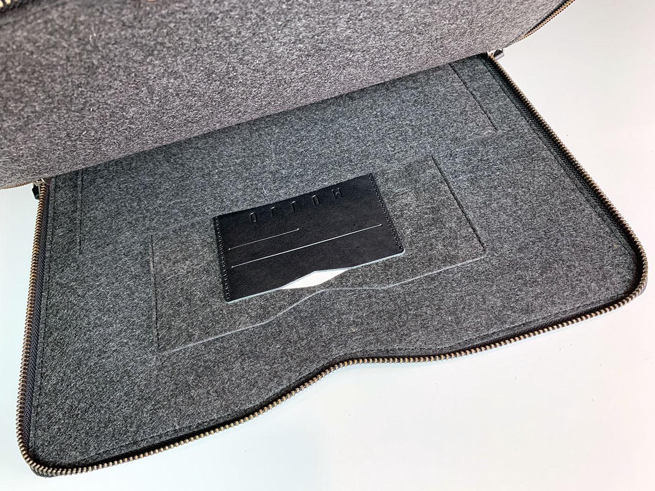 Mujjo Hoes voor MacBook 13-inch binnenkant