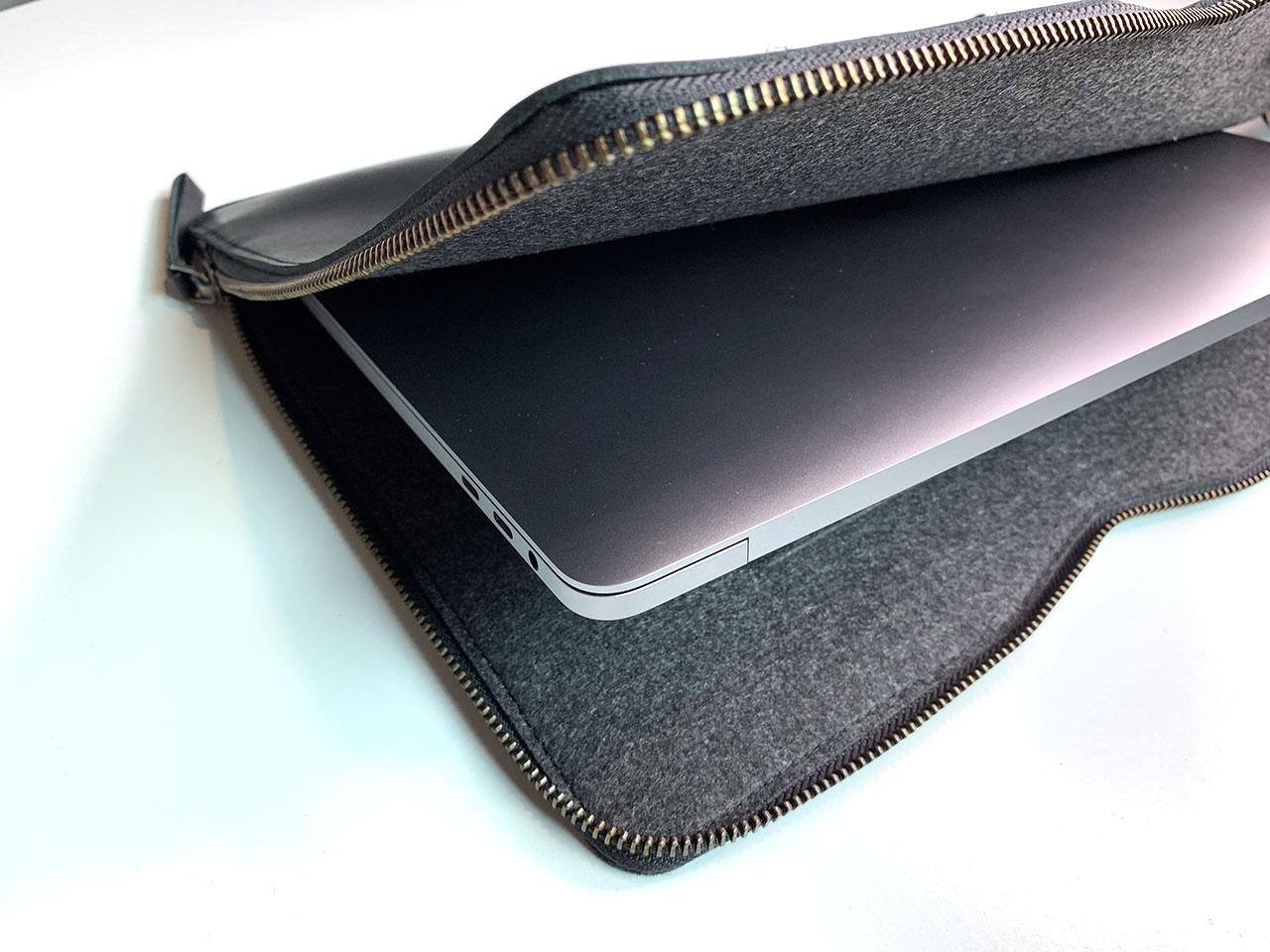 Mujjo-hoes voor 13-inch MacBook Air en Pro