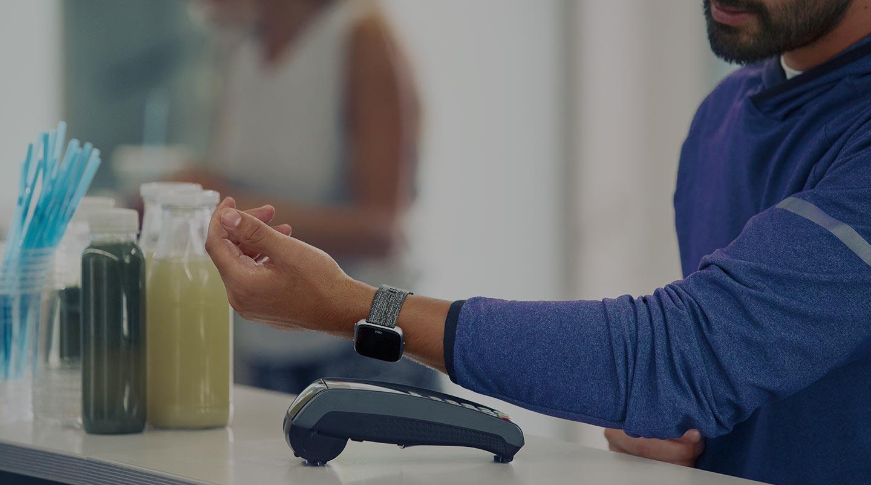 Fitbit Versa met Fitbit Pay.