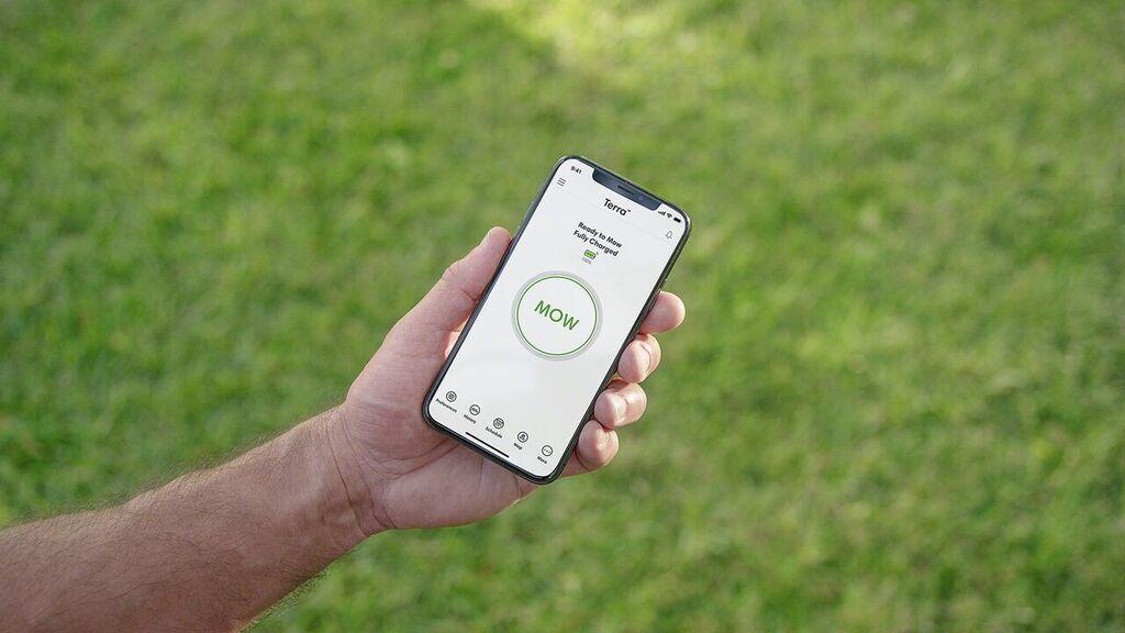 iRobot grasmaaier met app