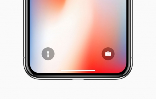 iPhone X zaklamp