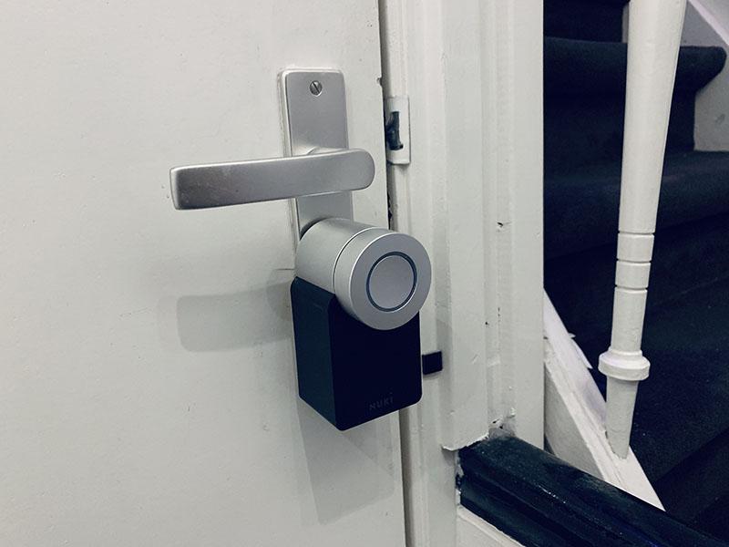 Nuki-deurslot gesloten