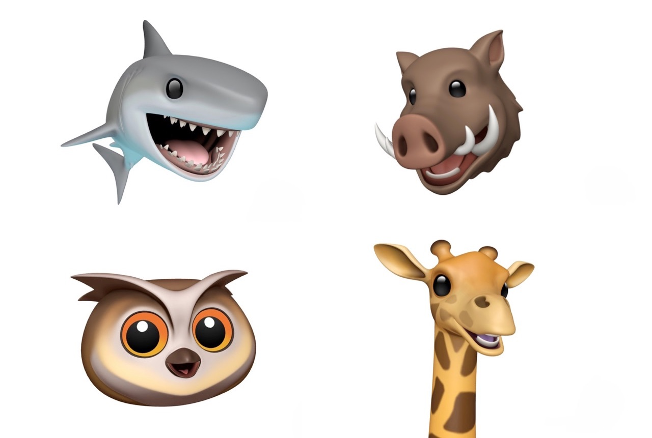 Animoji in iOS 12.2.