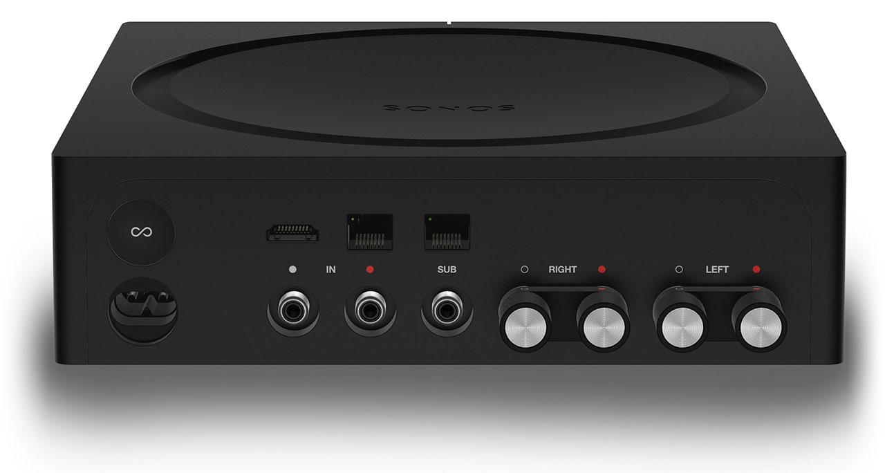 Sonos Amp aan de achterkant