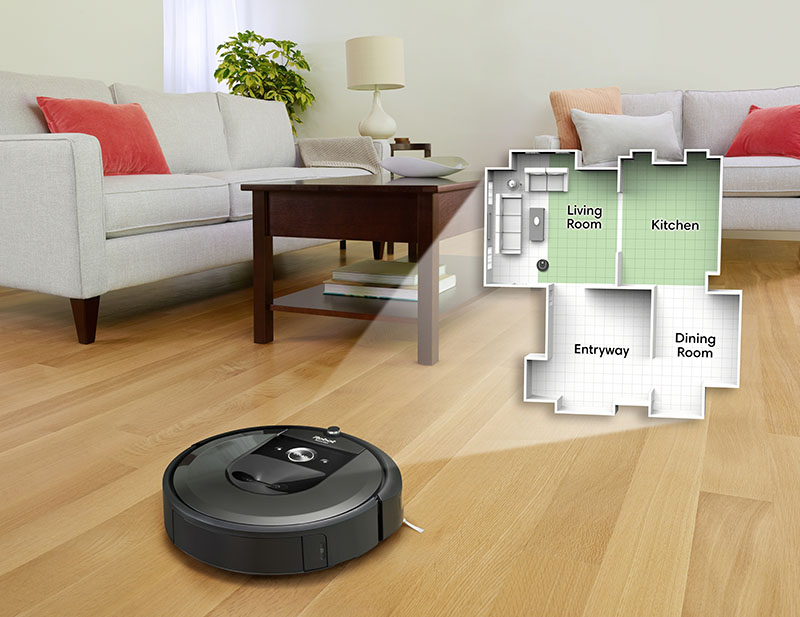 Roomba i7 Imprint Smart Map
