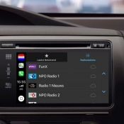 Nederland.FM op CarPlay.