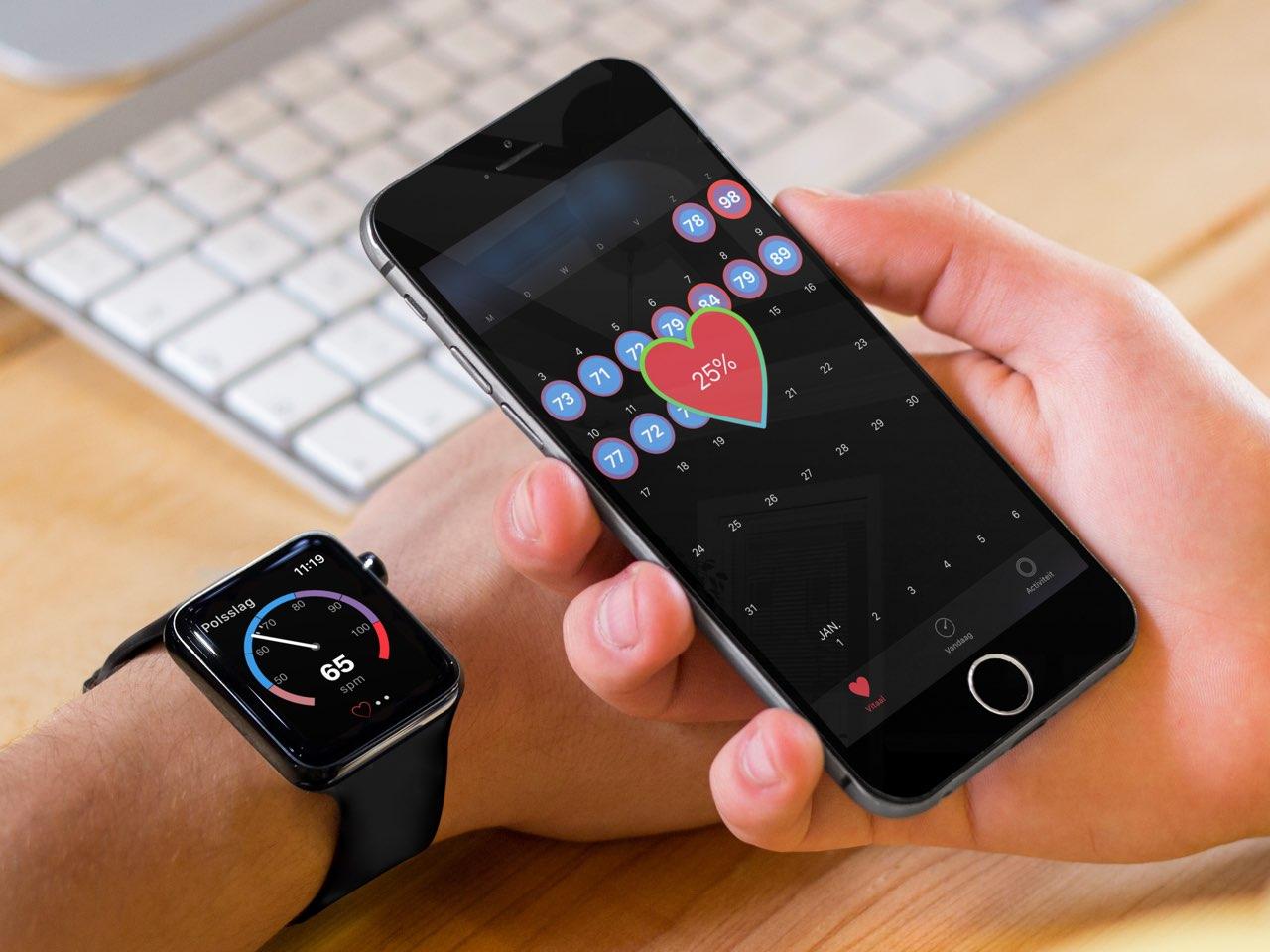 Beste hartslag-apps voor iPhone en Apple Watch