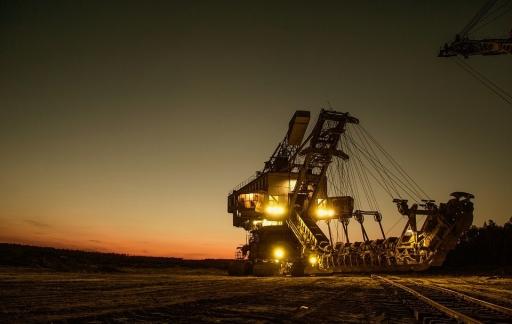 Mijnbouw: graafmachine