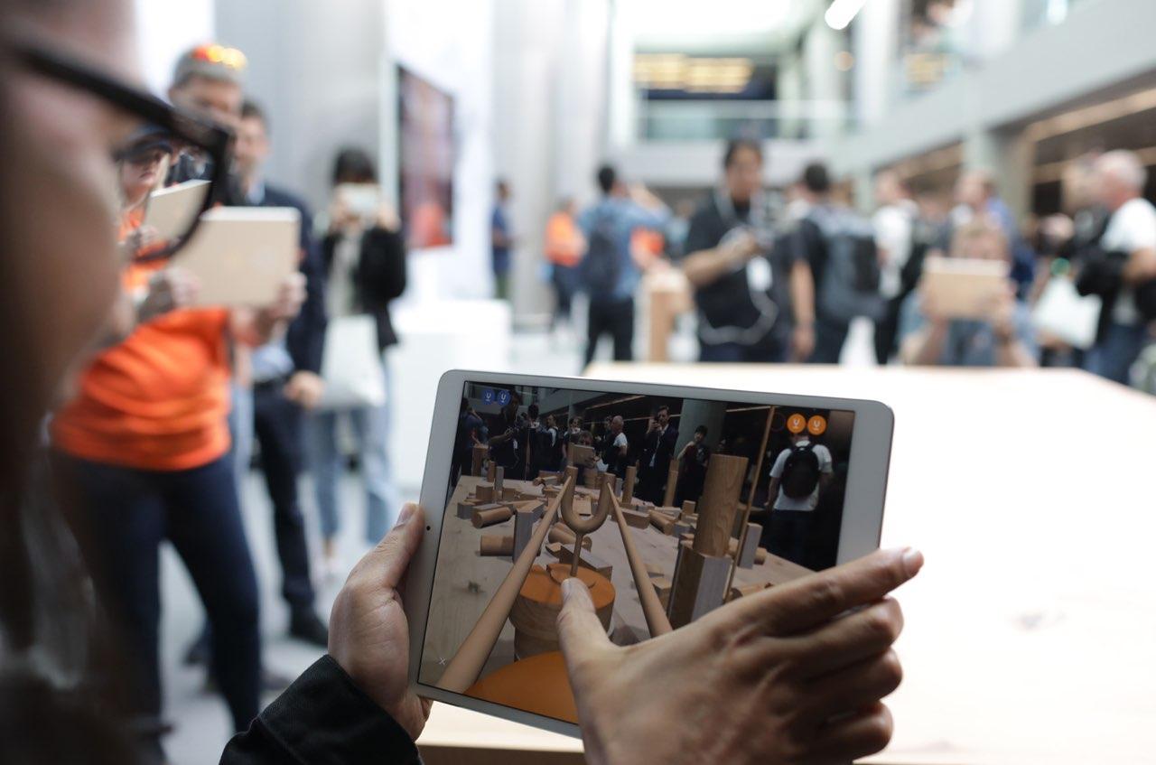 Augmented reality op iPad