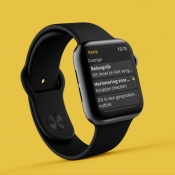 Google Keep op de Apple Watch.