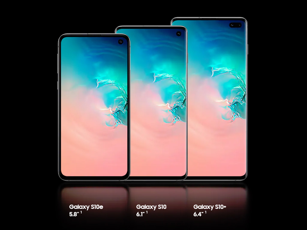Samsung Galaxy S10 line-up