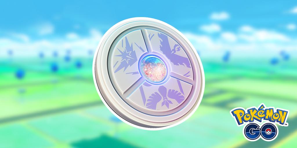 Pokémon Go team medaillon.