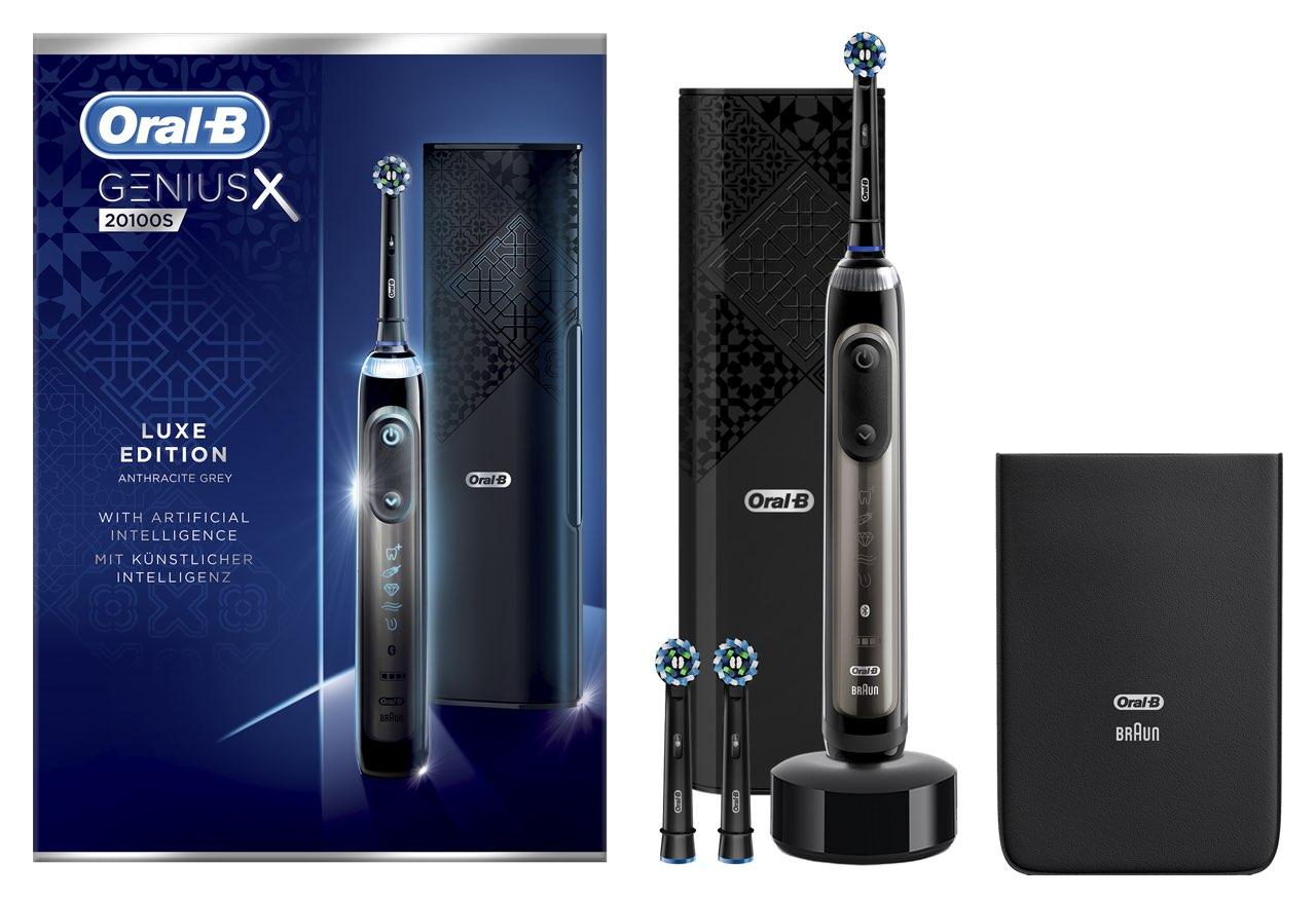 Oral-B Genius X 20100S Titanium Grey Luxury tandenborstel