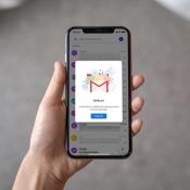 Gmail met nieuw design.